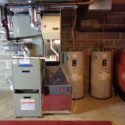 oil furnace & electric water heaters