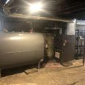 oil furnace & oil tank